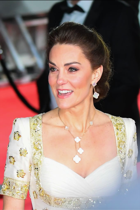 William e Kate ai BAFTA Awards 2020: lei ricicla un Alexander McQueen