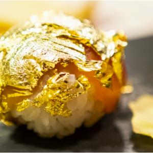 Finger's Garden Milano: lo chef Okabe ha inventato il sushi d'oro