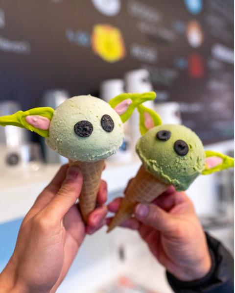 Arriva il gelato a forma di Baby Yoda: avocado, pistacchio e the verde