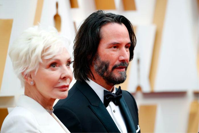 Keanu Reeves e la mamma