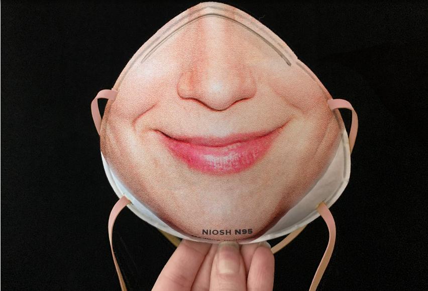 mascherina bocca louis vuitton