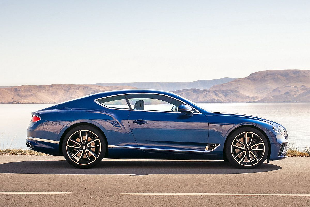 auto più lussuose al mondo Bentley Continental GT