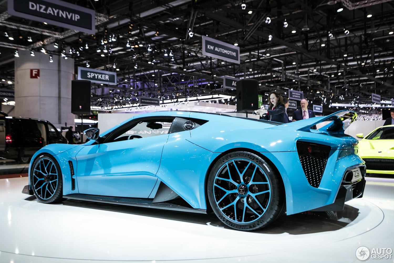 Auto più lussuose al mondo Zenvo Ts1 gt