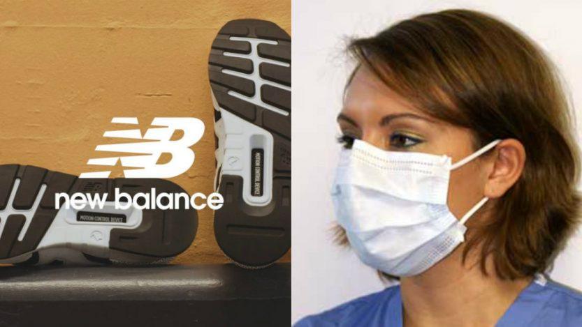 New Balance mascherina