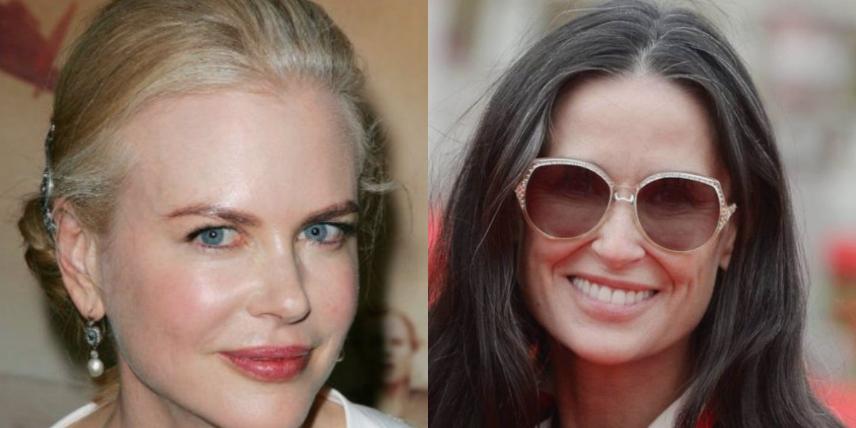 Nicole Kidman e Demi Moore