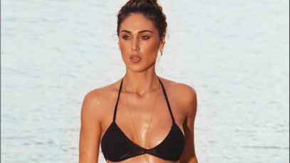 Cecilia Rodríguez Instagram, quarantena in costume sulla spiaggia: «Me ne sono andata»