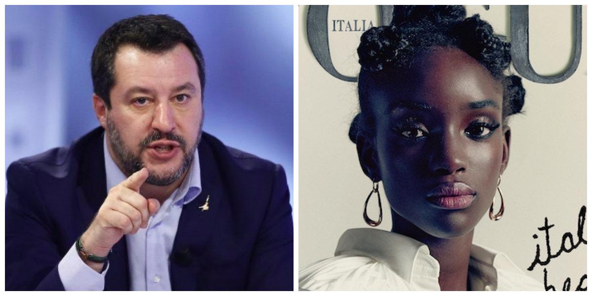 Matteo Salvini: «Se uno distingue l'essere umano in base al colore della pelle nel 2020 è fuori dal mondo»