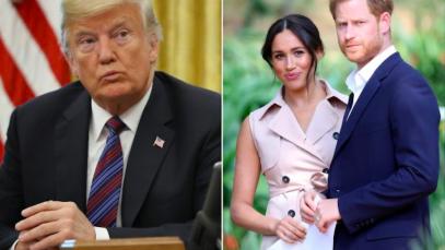 Donald Trump nega aiuto a Meghan Markle e Principe Harry: «Ma chi te l'ha chiesto!»