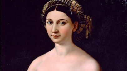 Anniversario morte Raffaello, 500 anni dopo gli censurano la Fornarina