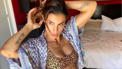 Elisabetta Canalis Instagram: in quarantena ci vuole un fisico bestiale
