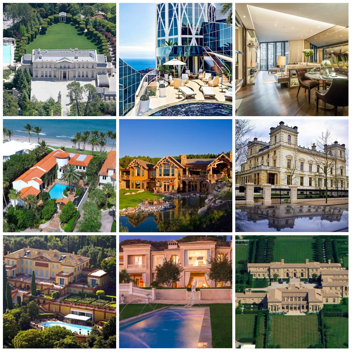 Le 10 case più costose e lussuose del mondo