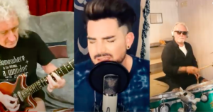 """Queen + Adam Lambert: """"You Are The Champions"""" versione quarantena"""