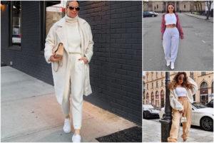 Tendenze moda Estate 2020: i jogger oversize stanno bene con tutto