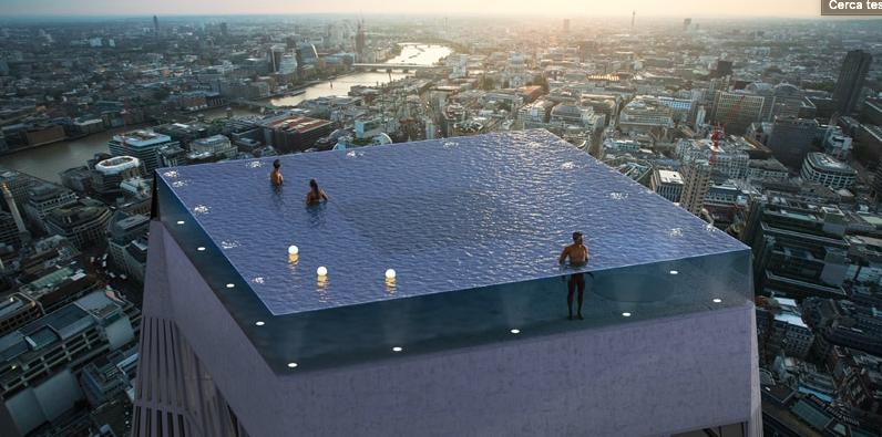Londra news, Infinity London ospiterà la piscina più lussuosa al mondo