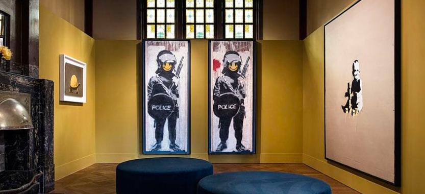 Ferrara, Banksy al Palazzo dei Diamanti. Registrato boom di ingressi