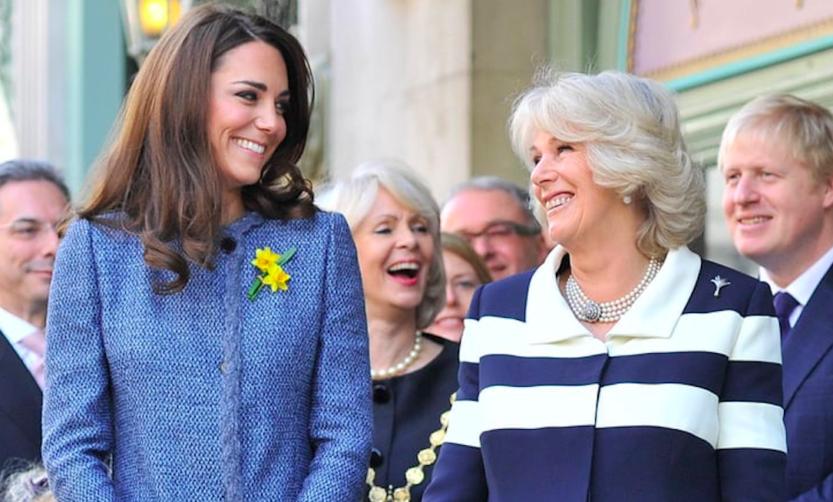 """Kate Middleton e Camilla. Due donne un unico destino: """"Camilla può far piangere dalle risate Kate"""""""