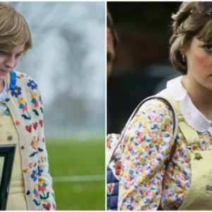 The Crown 4. Anteprima outfit di Lady Diana: serie vs realtà
