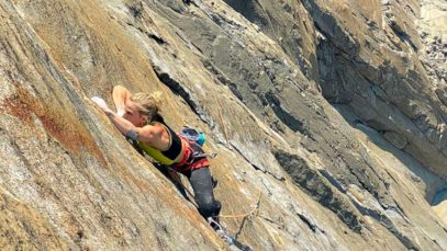 Storie di donne. Emily Harrington e la scalata da record: El Cap in 21 ore, 13 minuti e 51 secondi