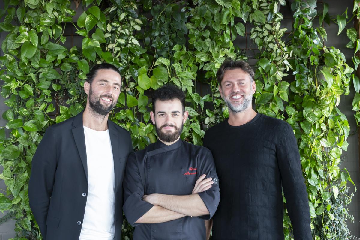 Marco e Riccardo Tomi chef alessandro Rossi
