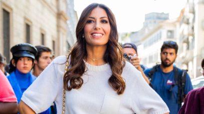 Leggings primavera / 2021: Elisabetta Gregoraci lancia il nuovo candy-trend