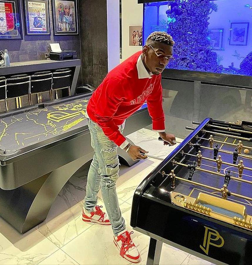 Paul Pogba, la sua sala giochi vale 3Milioni e mezzo di euro. Visitiamola!