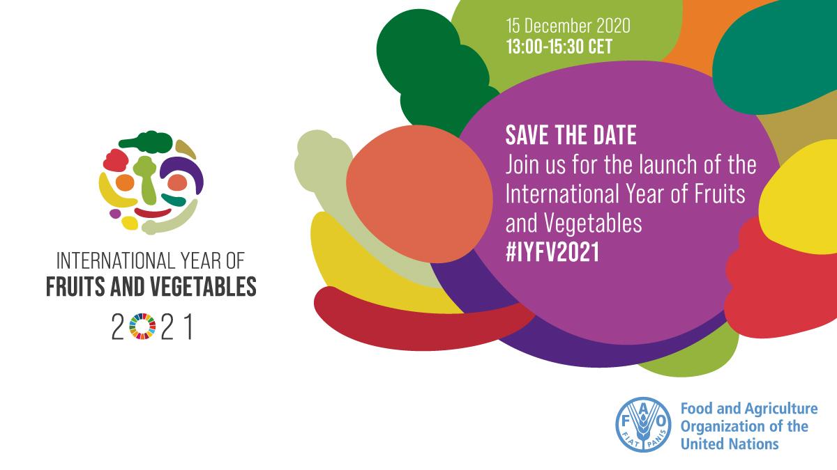 2021 anno internazionale della frutta e della verdura