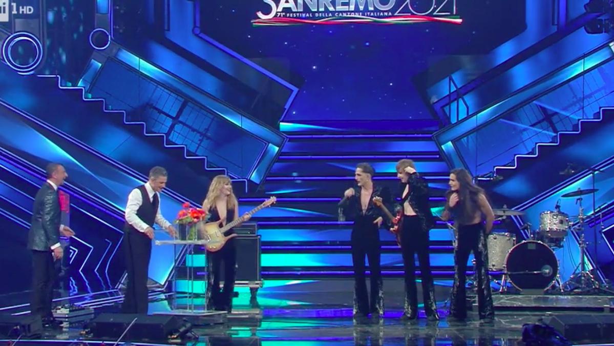 Sanremo 2021, Maneskin look fuoriclasse: ai piedi preziosissime Zanotti