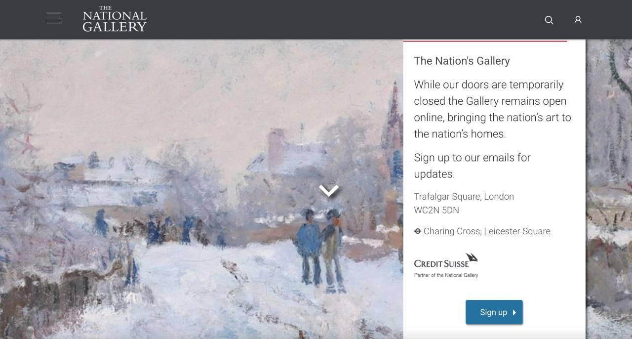 Arte online national gallery london