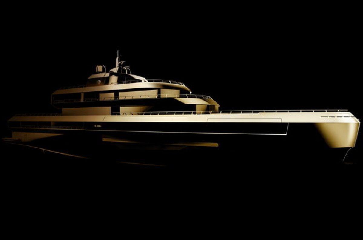 Yacht Giorgio Armani: tutto d'oro, 72 metri di puro lusso. Pronti a salpare!