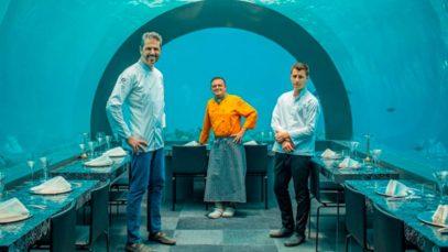 Ristorante di lusso. Mangiare sott'acqua è possibile: da Andrea Berton nel suo H2O