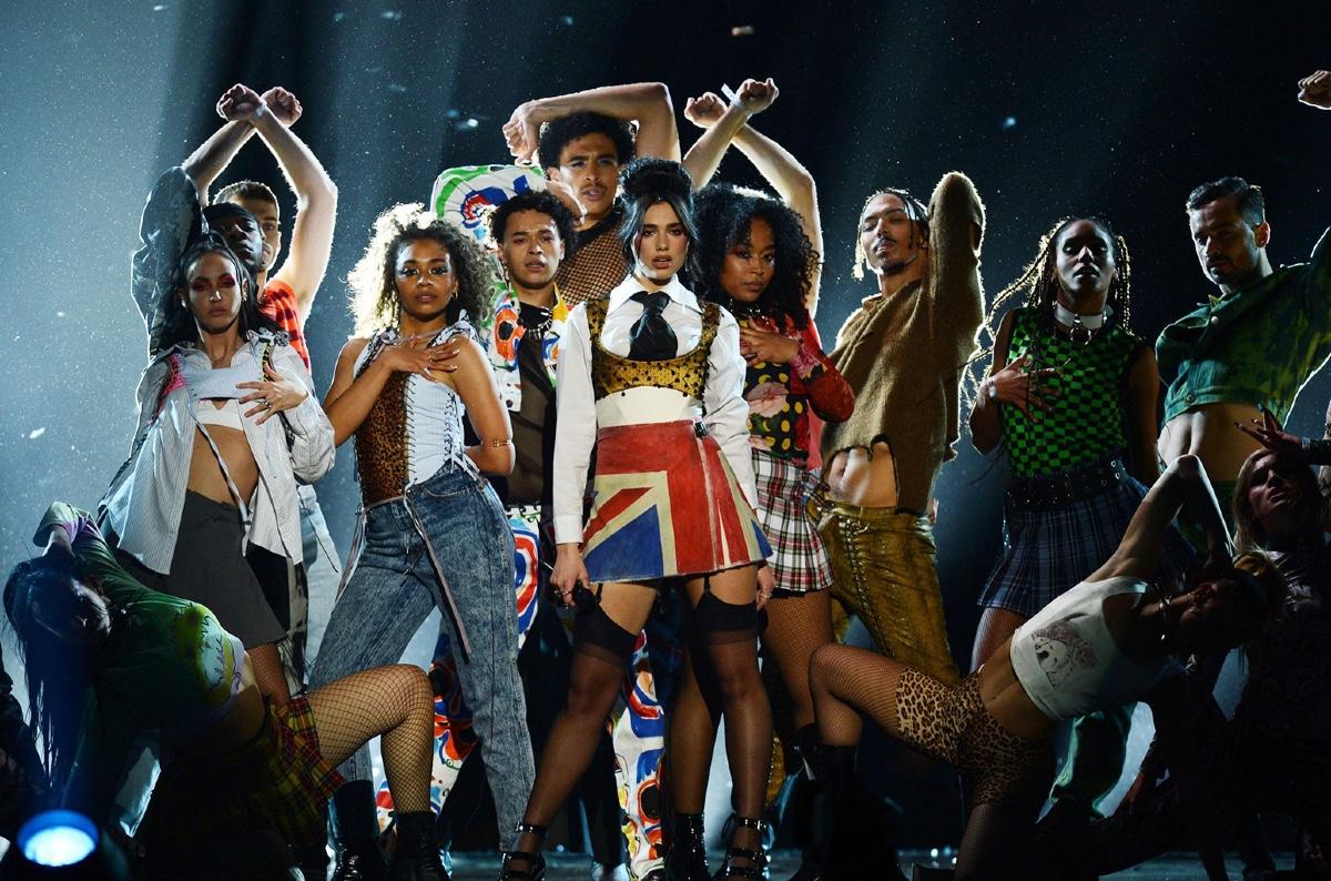 Brit Awards 2021: Dua Lipa super British