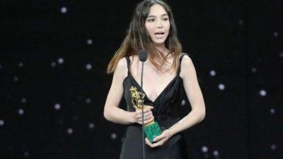 """Matilda De Angelis vince il David di Donatello e sbaraglia la concorrenza: """"Voi siete pazzi!"""""""