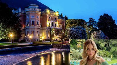 Chiara Ferragni a Villa Feltrinelli: un weekend da sogno all'insegna del lusso estremo