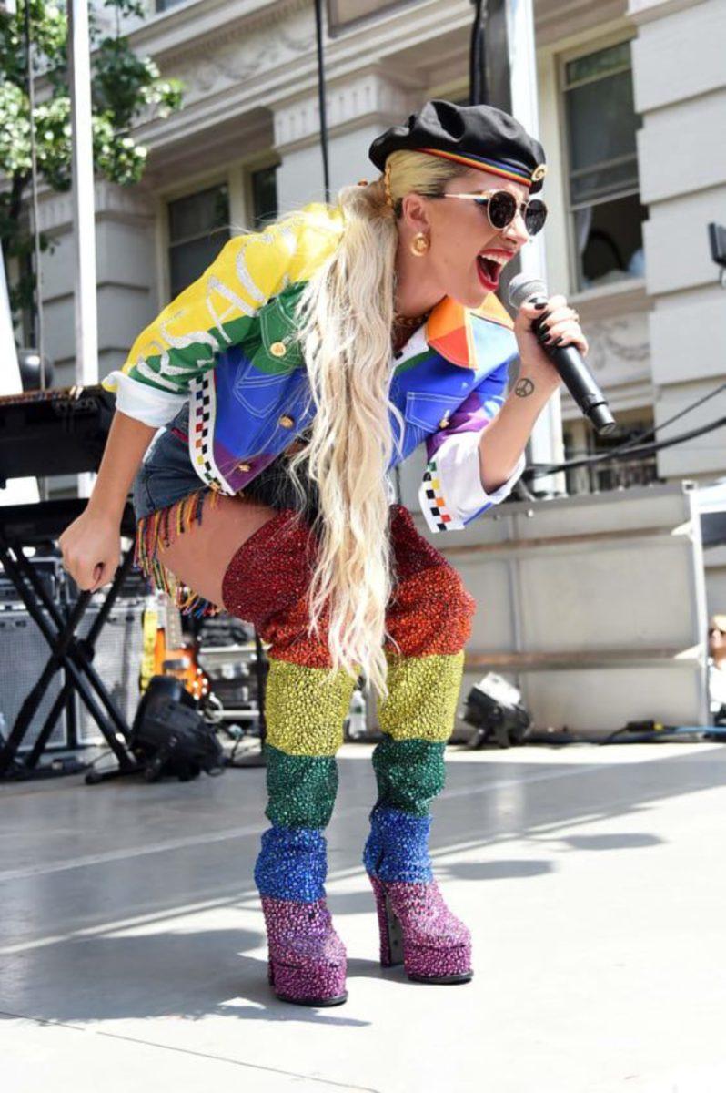 Gaga e Donatella