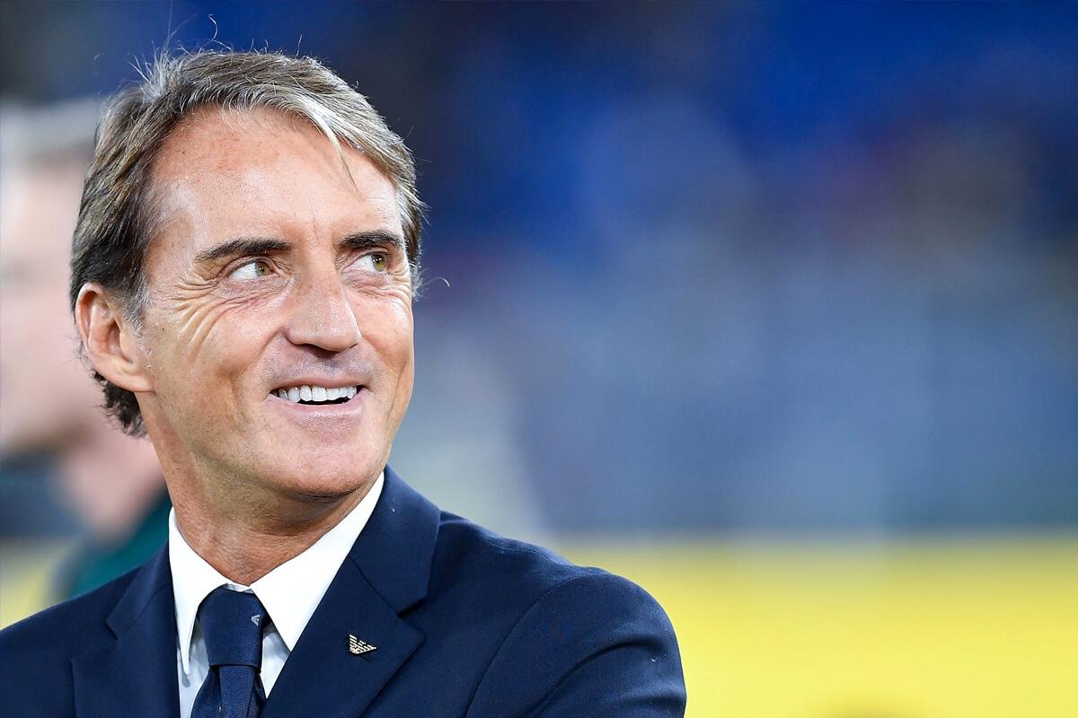 Roberto Mancini nel segno dell'eleganza