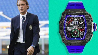 Roberto Mancini, il suo orologio vale 200mila euro e c'è un motivo: marca e caratteristiche