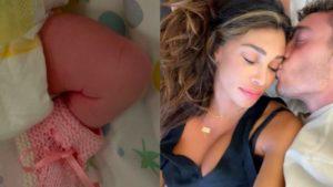 Belen Rodriguez, nata Luna Marì meraviglia vera. Le prime foto della piccola