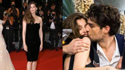Laetitia Casta a Cannes 2021. Com'è oggi (splendida of course), innamoratissima del suo Louis Garrel