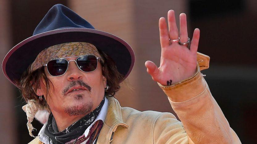 Johnny Depp Festa del Cinema di Roma: red carpet come Jack Sparrow