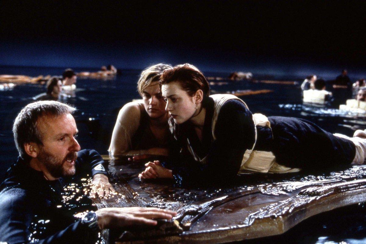 Titanic con Leonardo DiCaprio e Kate Winslet