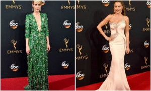 emmy awards 2016 red carpet, emmy 2016 red carpet, emmy 2016 attrici, emmy 2016 abiti attrici,