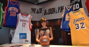 Alice Sabatini alla mostra NBA
