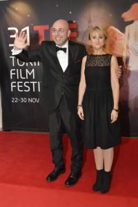 Paolo Virzì e Luciana Littizzetto al Torino Film Festival 2013