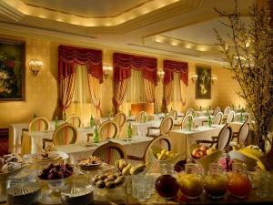 Sala da pranzo del Parco dei Principi Grand Hotel & Spa