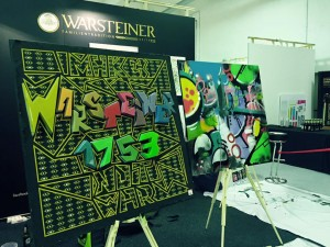 Warsteiner all'Affordable Art Fair
