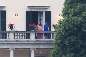 Amal Clooney a Villa Oleandra