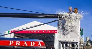 """Varo del catamarano AC72 """"Luna Rossa"""""""