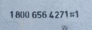Il numero verde legato alle opere di Bansky a New York