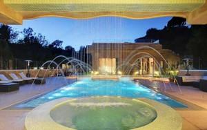 Rihanna - villa di lusso di Los Angeles