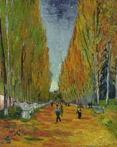 L'Allée des Alyscamps di Vincent van Gogh
